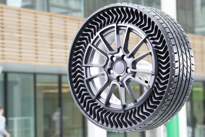 Безвоздушные шины Michelin готовы к серийному производству