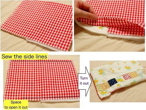 How to make a patchwork pouch(5)