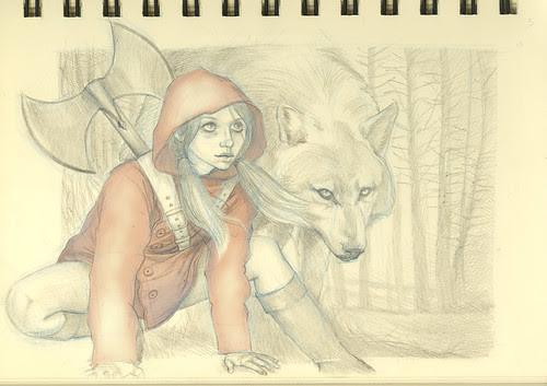 Little Red Riding Hood - The Superhero