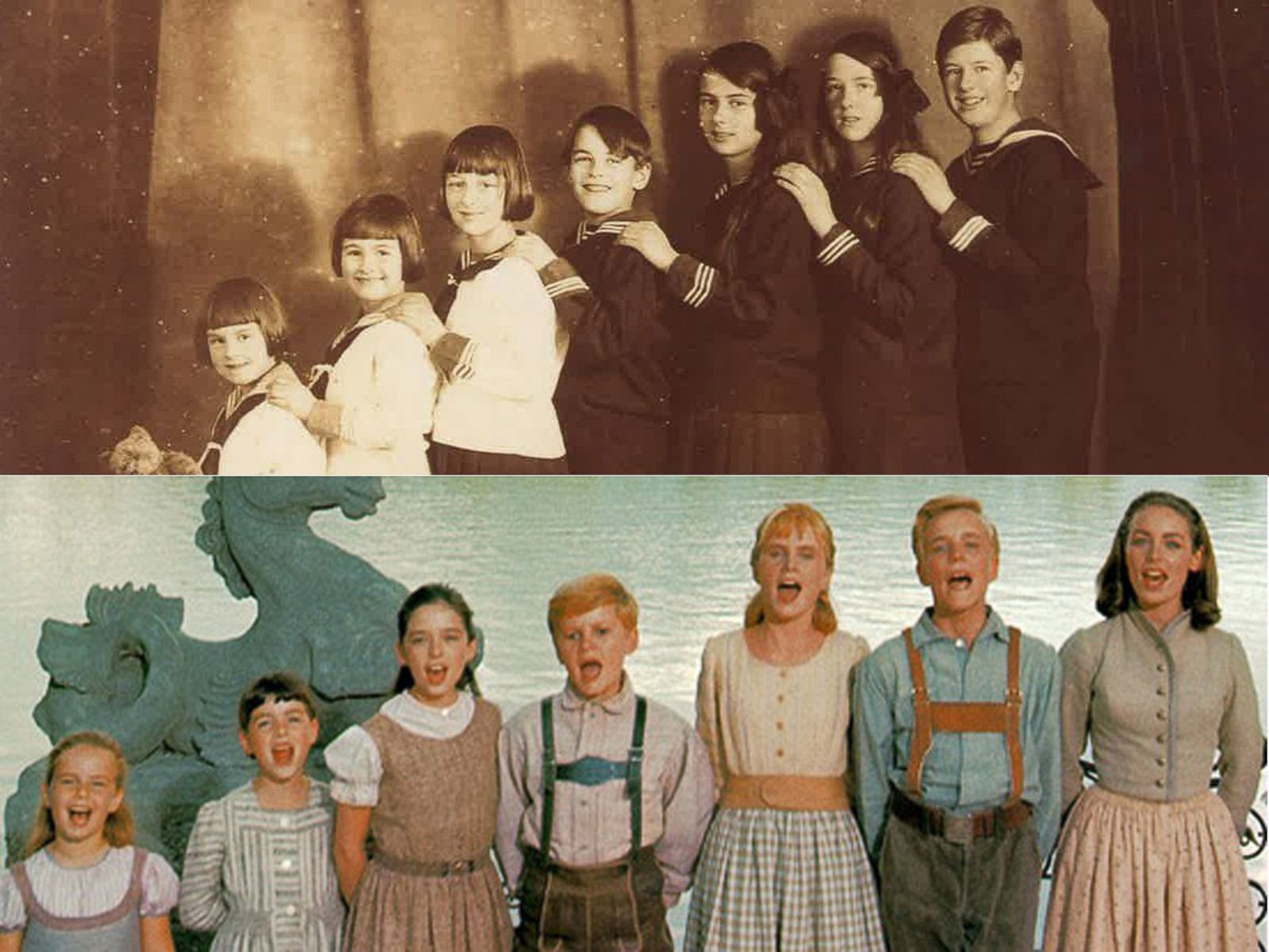 Image result for sound of music real family