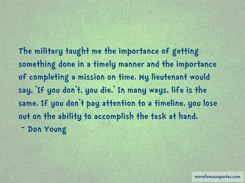 Completing Mission Quotes Top 2 Quotes About Completing Mission