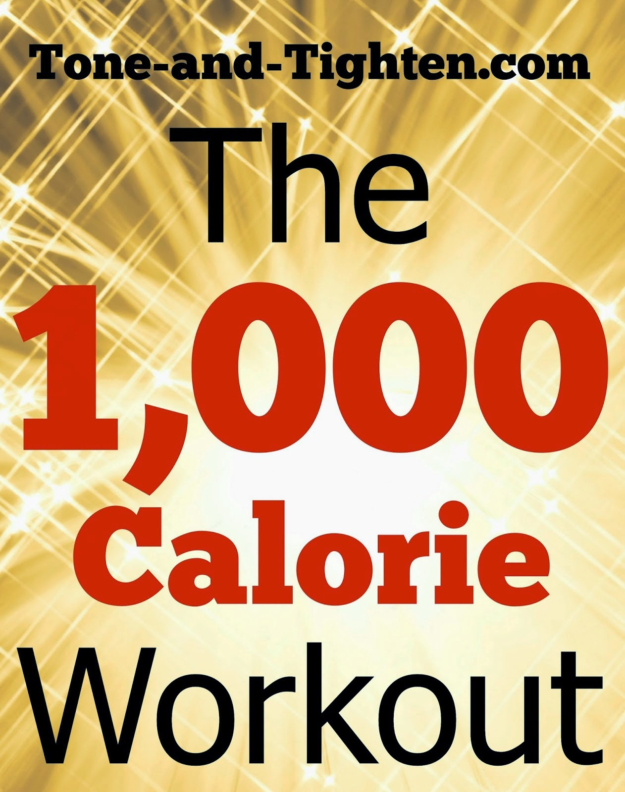 Weekly Workout Plan - Cardio and core workouts to tone and ...