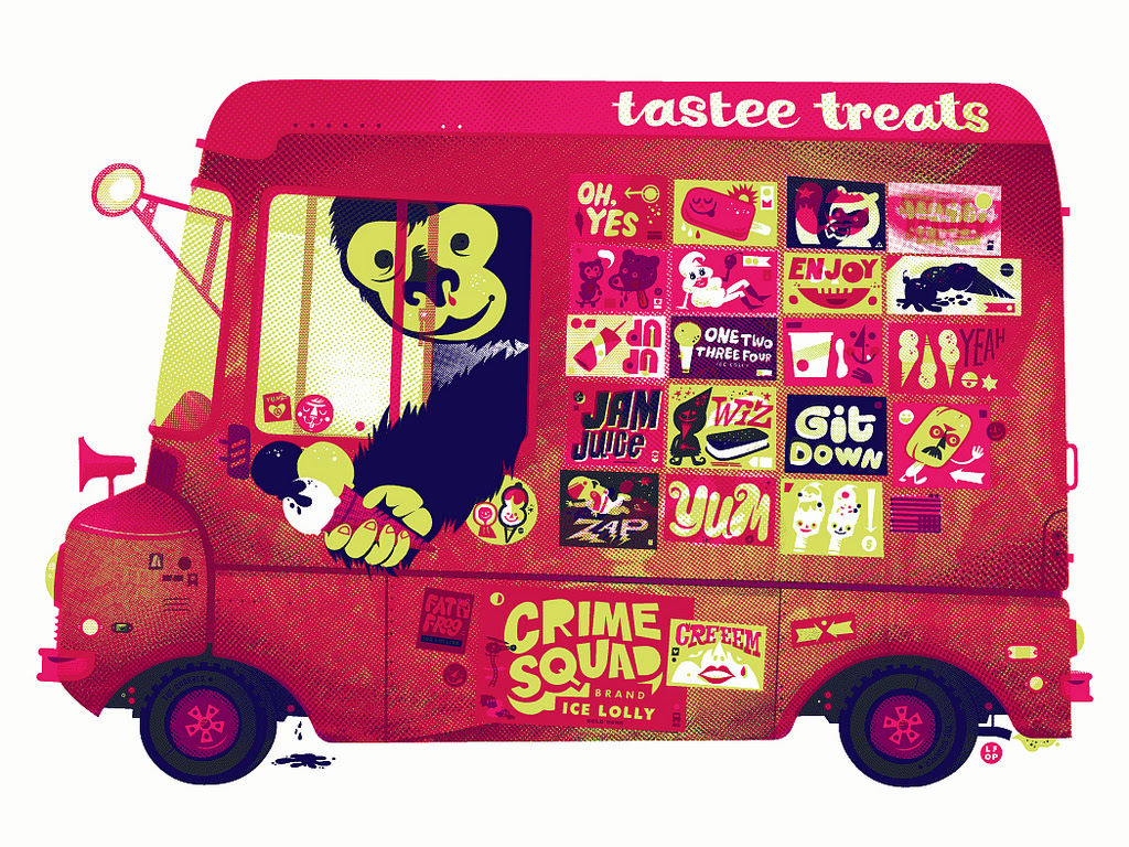 TASTEE TREATS by Little Friends of Printmaking