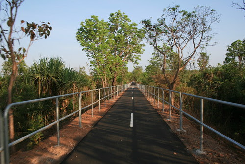 Howard Springs - Palmerston Bicycle path 1