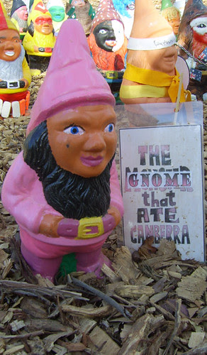 The gnome that ate Canberra