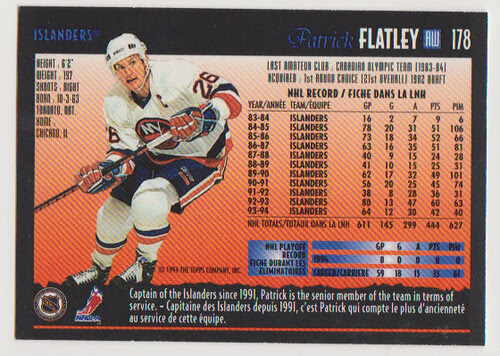 OPC Pat Flatley back