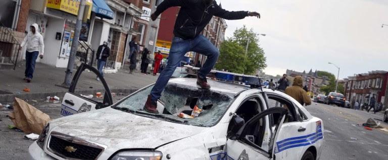Los disturbios de Baltimore son uno de los mas graves de los últimos meses