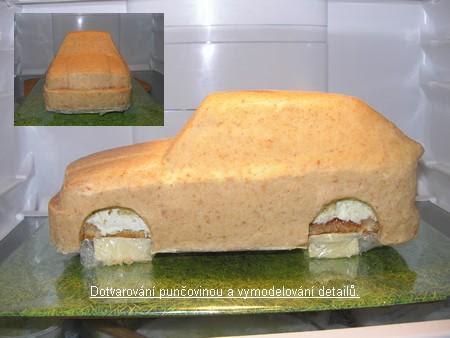 3D торты. Автомобили из мастики (8) (450x338, 21Kb)