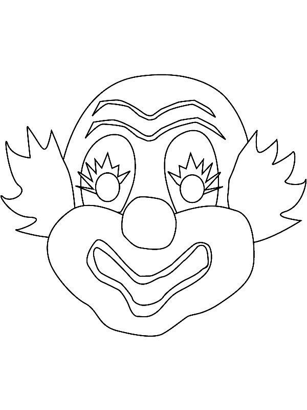 clown malvorlagen ausdrucken xl