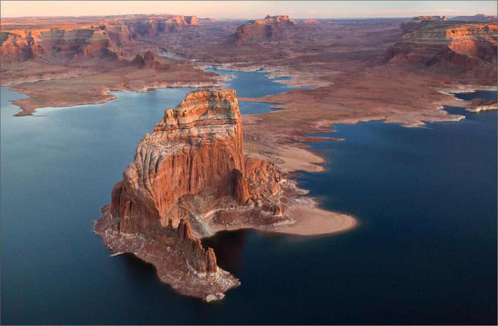Η λίμνη Powell στην Αμερική