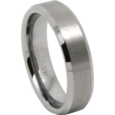 Mens Rings   Titanium And Tungsten Wedding Rings