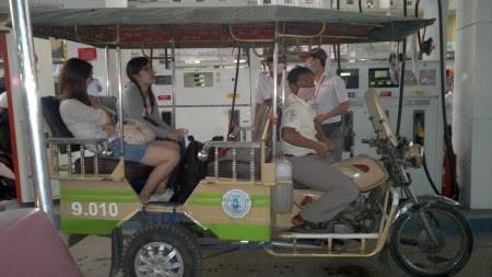 Tuktuk camboyano
