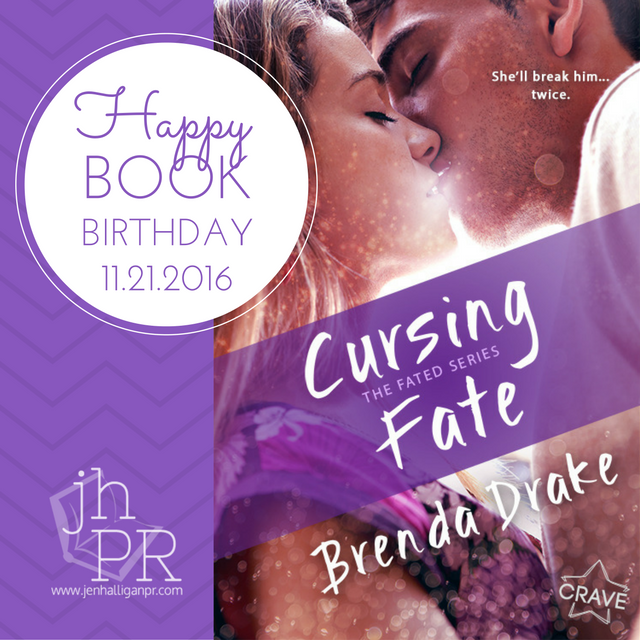 Cursing Fate by Brenda Drake | JenHalliganPR.com
