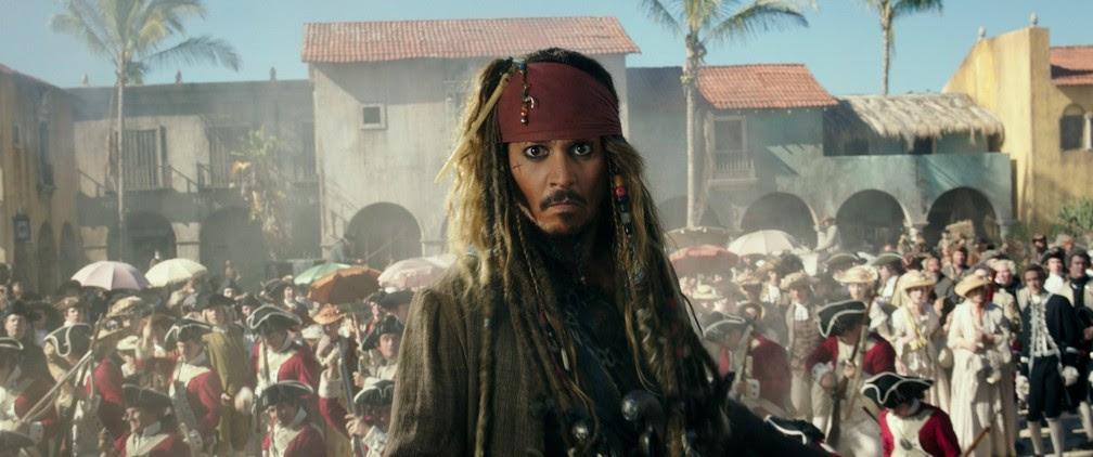 Johnny Depp volta para o novo 'Piratas do Caribe: A vingança de Salazar' (Foto: Divulgação)
