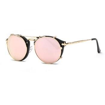 b0a3bb814d70f Fashion Men Women Glasses Vintage Design Ladies Sunglasses Polarized Lens  Sunglasses Fashion Oval Small Ladies Lovers