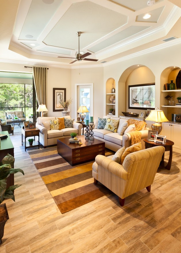 15 Homely Traditional Living Room Designs To Help You ...