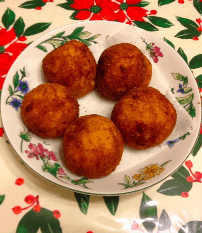 "Italian Rice Balls Recipe: Authentic ""A Rancini"""