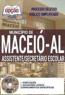 ASSISTENTE / SECRETÁRIO ESCOLAR