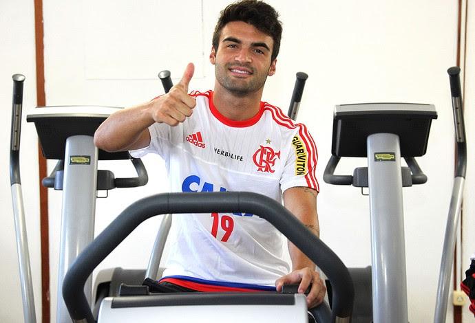 Arthur Maia Treino Flamengo (Foto: Gilvan de Souza / Flamengo)