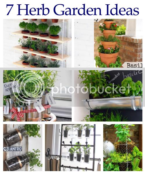 Diy home sweet home 7 herb garden ideas Outdoor herb garden ideas