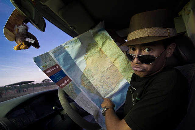J34 / Auto-portrait : En route pour Perth
