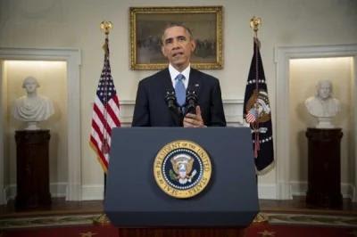 """欧巴马速签""""军舰移转法案"""",中国随即表示不满。(法新社)"""