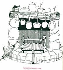 olney's fireplace