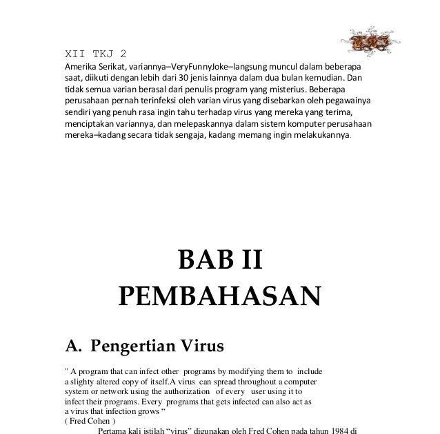 Makalah Virus Doc