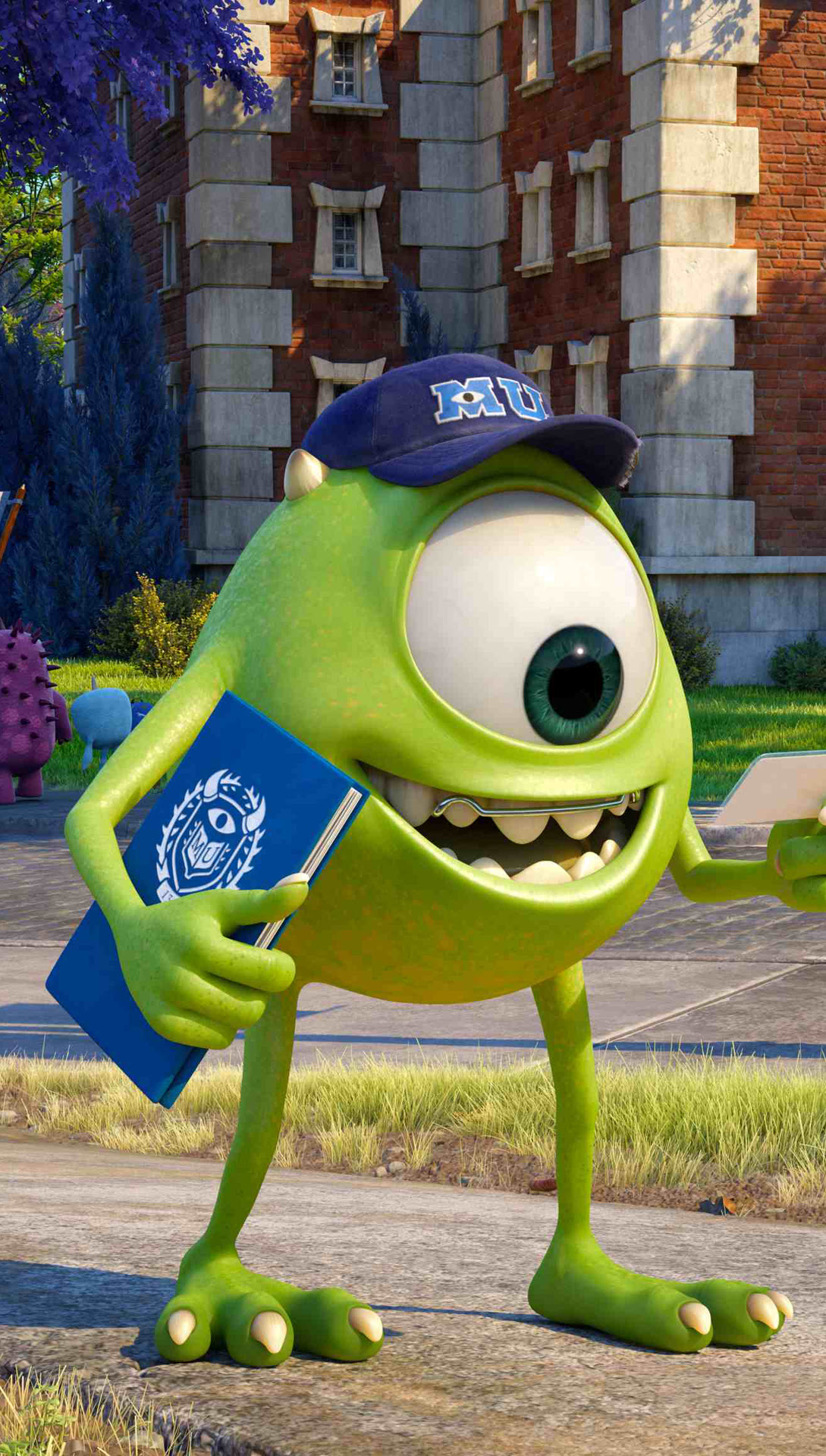 Mike Wazowsk Monster University Best Htc One Wallpapers