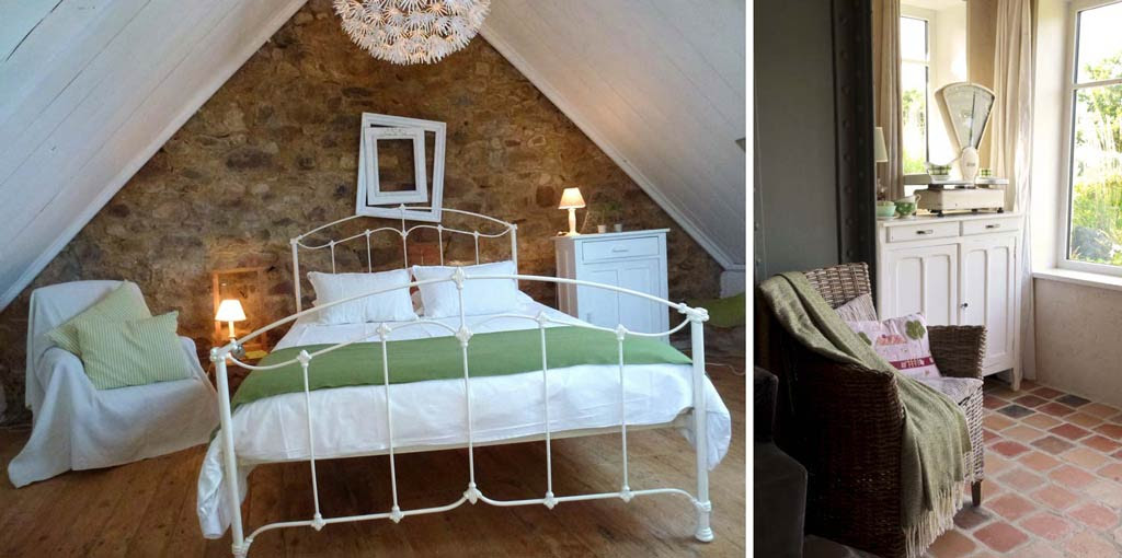 La maison de Anne, the quirky holiday cottage in Brittany