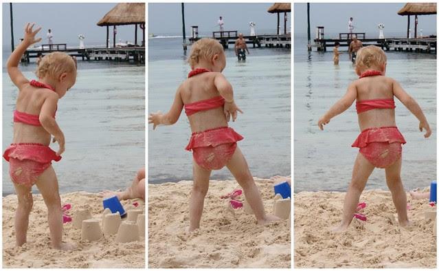 stomping sandcastles