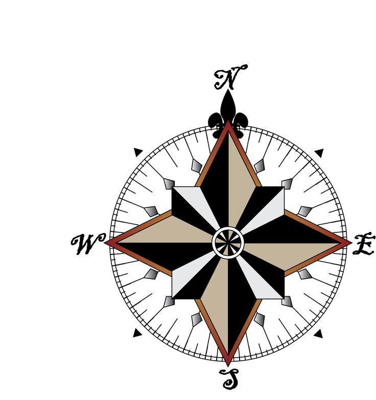 Compass Rose Clipart At Getdrawingscom Free For Personal Use