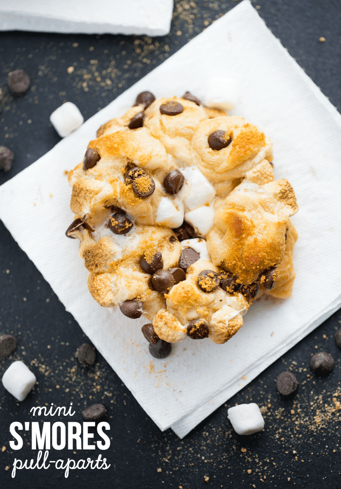 Mini S'more Pull Aparts by Simply Stacie