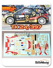 Calcas 1/24 Renaissance Models - Citroen DS3 WRC Abu Dhabi - Nº 1 - Sebastian Loeb + D. Elena - Rally de Alsace 2013
