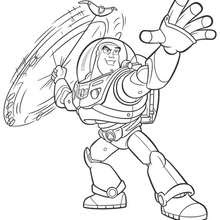 Coloriages Coloriage Toy Story 3 Buzz Leclair Frhellokidscom