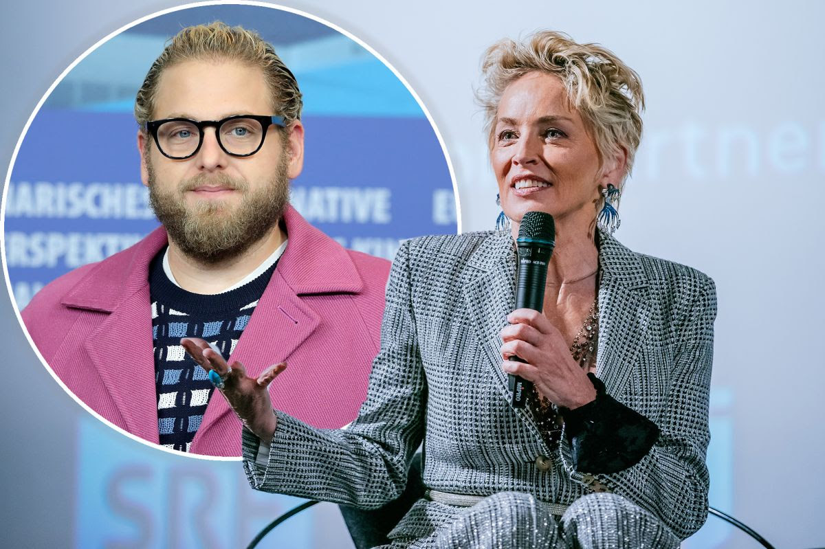 Sharon Stone comments on Jonah Hill's looks after he asked people to stop