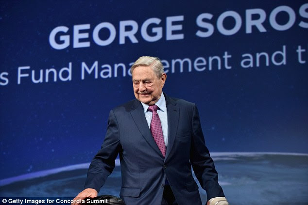Democratic moneyman George Soros and his wealthy friends spent the last three days huddled in Washington contemplating their missteps in the 2016 election
