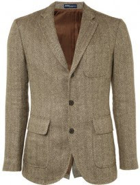 Polo Ralph Lauren Tweed Three Button Blazer