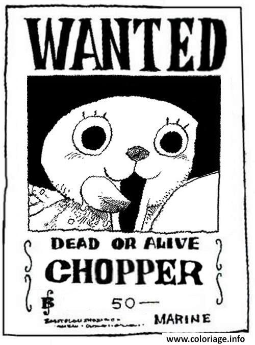 Dessin One Piece Chopper