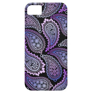 Purple Paisley iPhone 5 Case iPhone 5 Cover