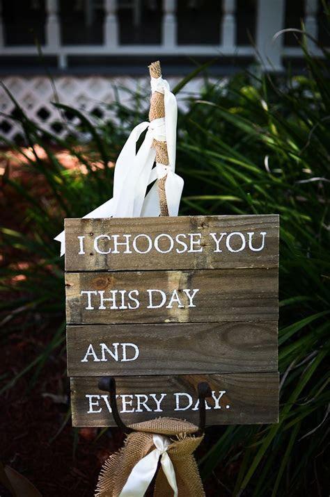 Handmade Backyard Florida Wedding   signage   Backyard