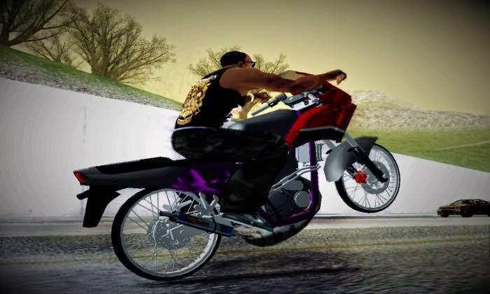 Ninja RR Drag Mod GTA San Reas Momod Game