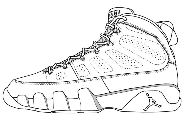 shoes: Yeezy Shoes Coloring Pages