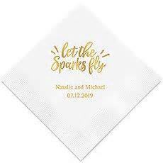 Personalised Paper Napkins ? Unique Wedding Napkins