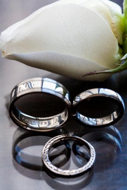 DIY: DC Couple DIYs Wedding Bands at Wedding Ring Workshop