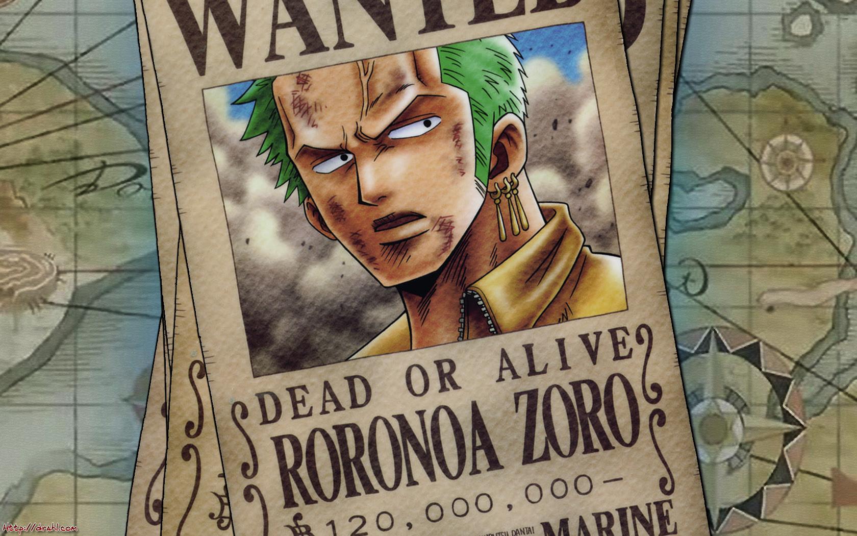 Wanted Roronoa Zoro Wallpaper   Body Painting Galleries