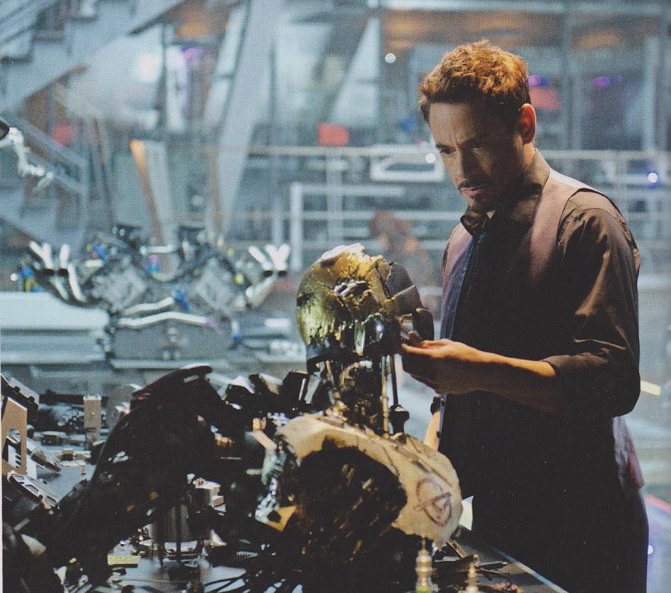Tony Stark en Los Vengadores: La Era de Ultron