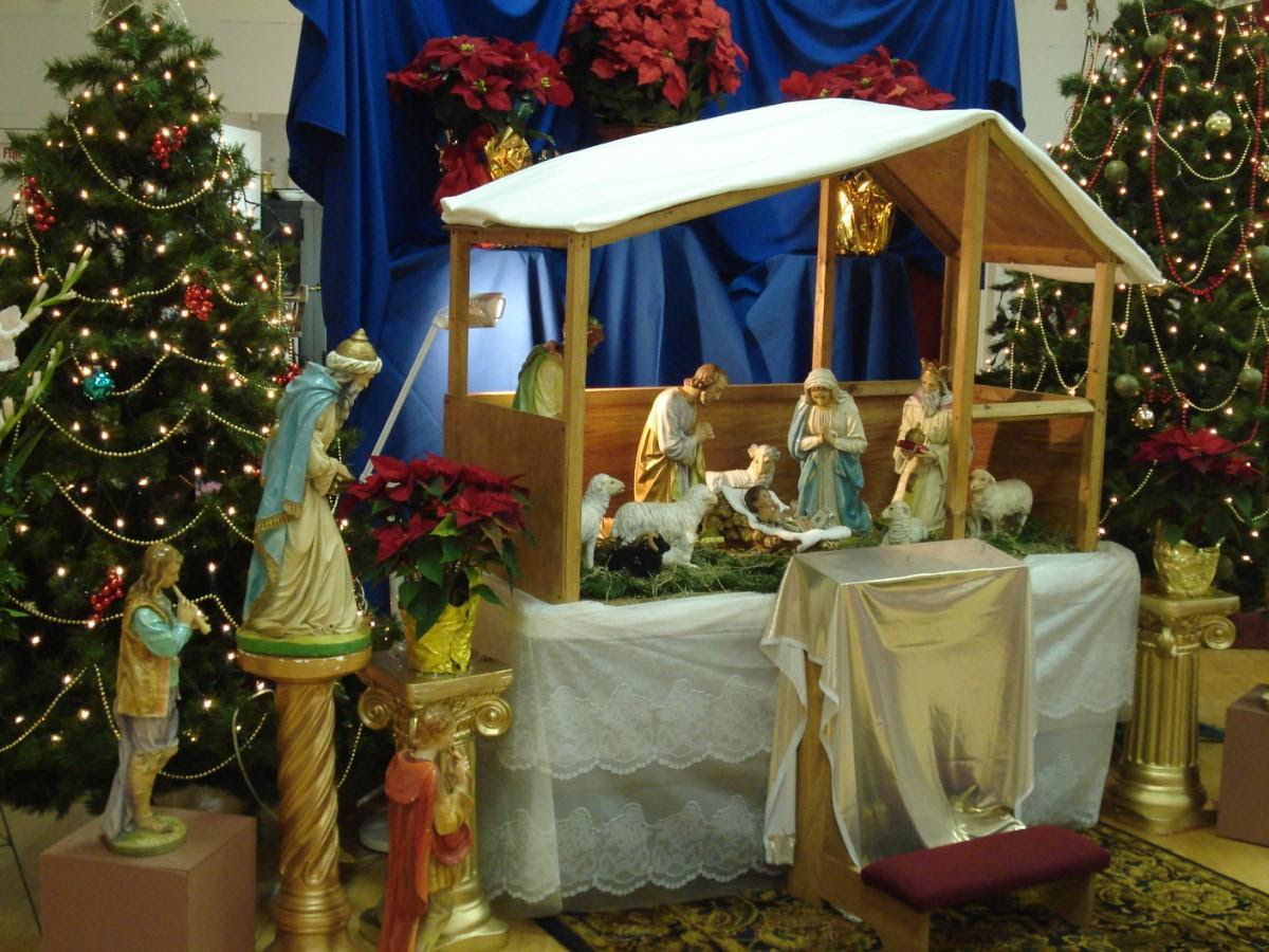 Photo crèche de Noël - img 16413