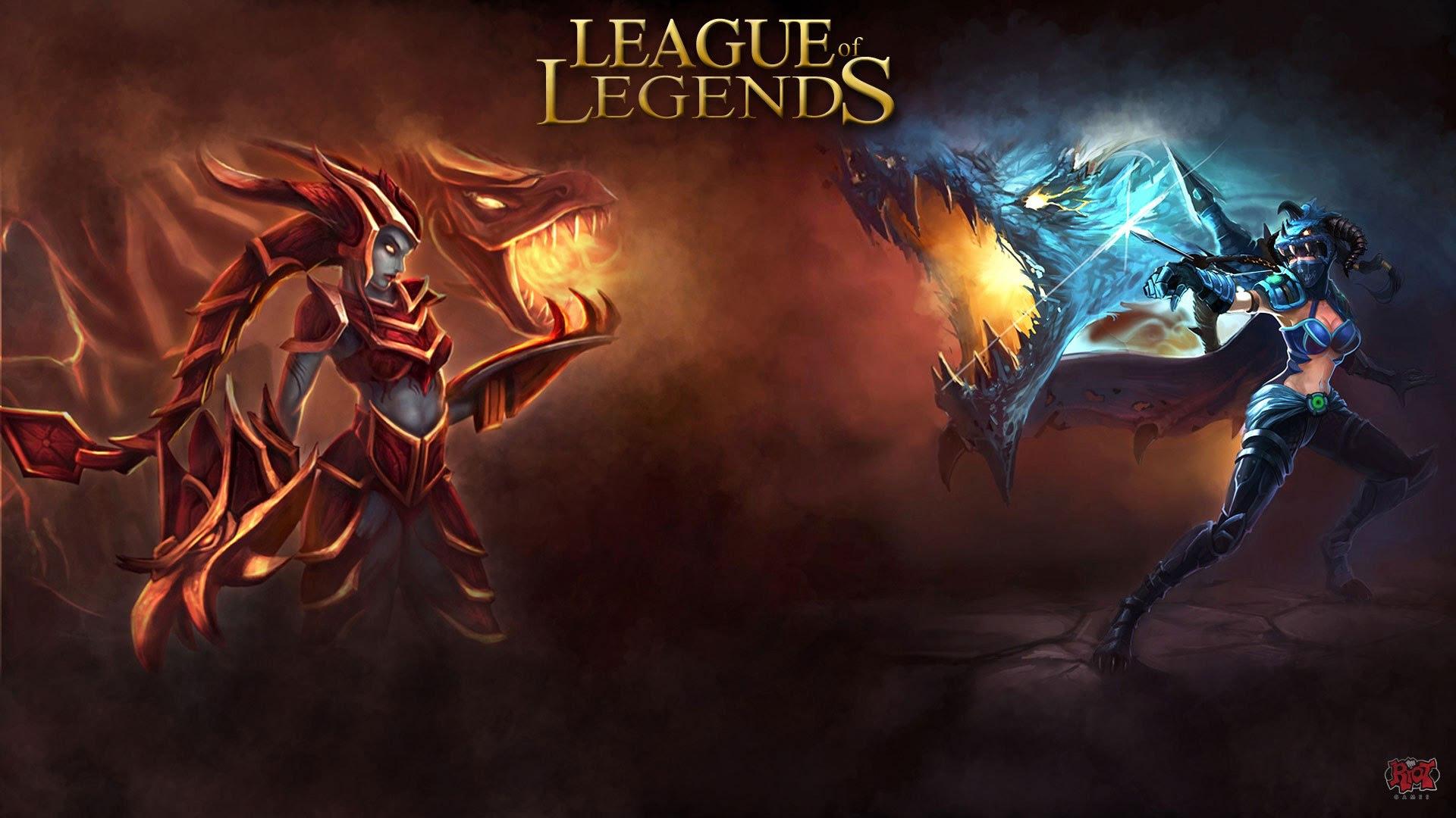 League Of Legends Wallpaper 1366x768