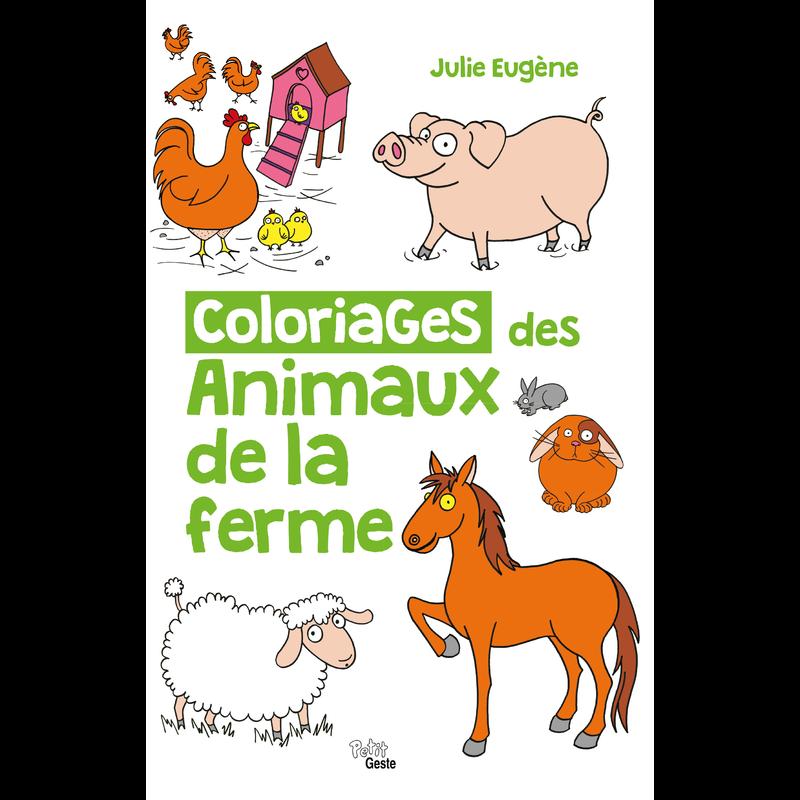 Coloriages Des Animaux De La Ferme Coloriages Jeunesse Geste